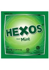 Hexos,Candy Mint 5X2.5G Sct