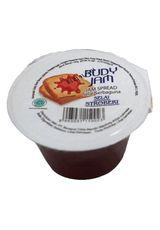 Budy,Jam Strawberry 150G Cup