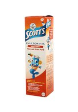 Scotts Emulsion,Minyak Ikan Vita Orange 200Ml Btl