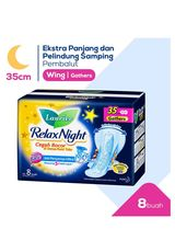 Pembalut Relax Night 8'S