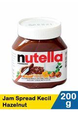 Nutella,Jam Spread Kecil Hazelnut 200G Btl