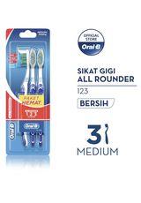 Sikat Gigi All Rounder 123 3'S