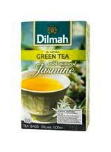 DILMAH,GREEAN TEA JASMINE PETALS 20'S ENVELOPE 30g BOX