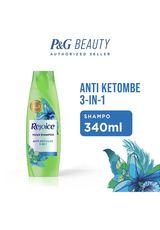 Shampoo Antidandruff 3 In 1