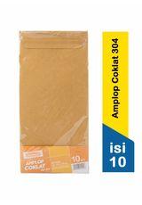 Amplop Coklat No.304 (10'S)