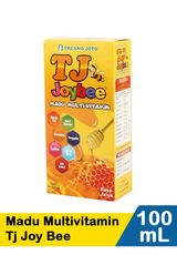 Tresno Joyo,Madu Multivitamin Tj Joy Bee Jeruk 100Ml Btl