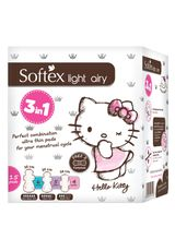 Softex,Pembalut Wnt Light Airy 15'S 3In1 Hello Kity