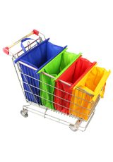 SUPERMARKET TROLLEY BAG SET