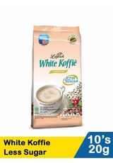 White Koffie Less Sugar