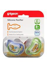 BABY SILICONE PACIFIER 2'S