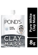 Pure White Mineral Clay Mask