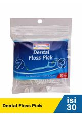 Dental Floss Pick 30'S