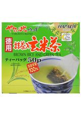 GREEN TEA BAG WITH BROWN RICE