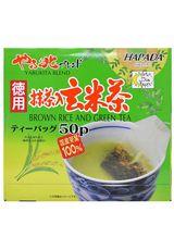 GREEN TEA BAG WITH BROWN RICE